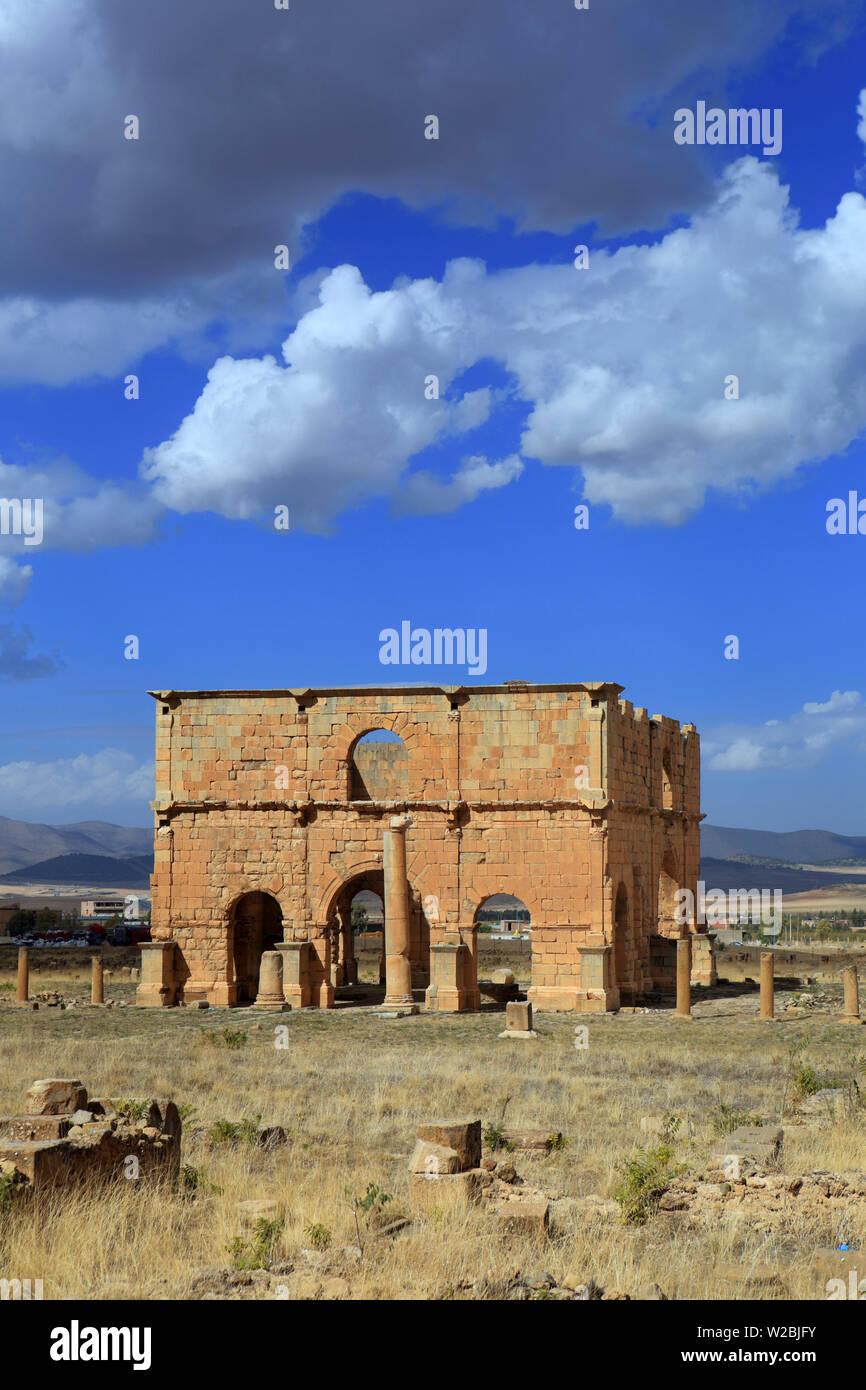 Pretorio (267), Lambesis, Batna Provincia, Algeria Immagini Stock