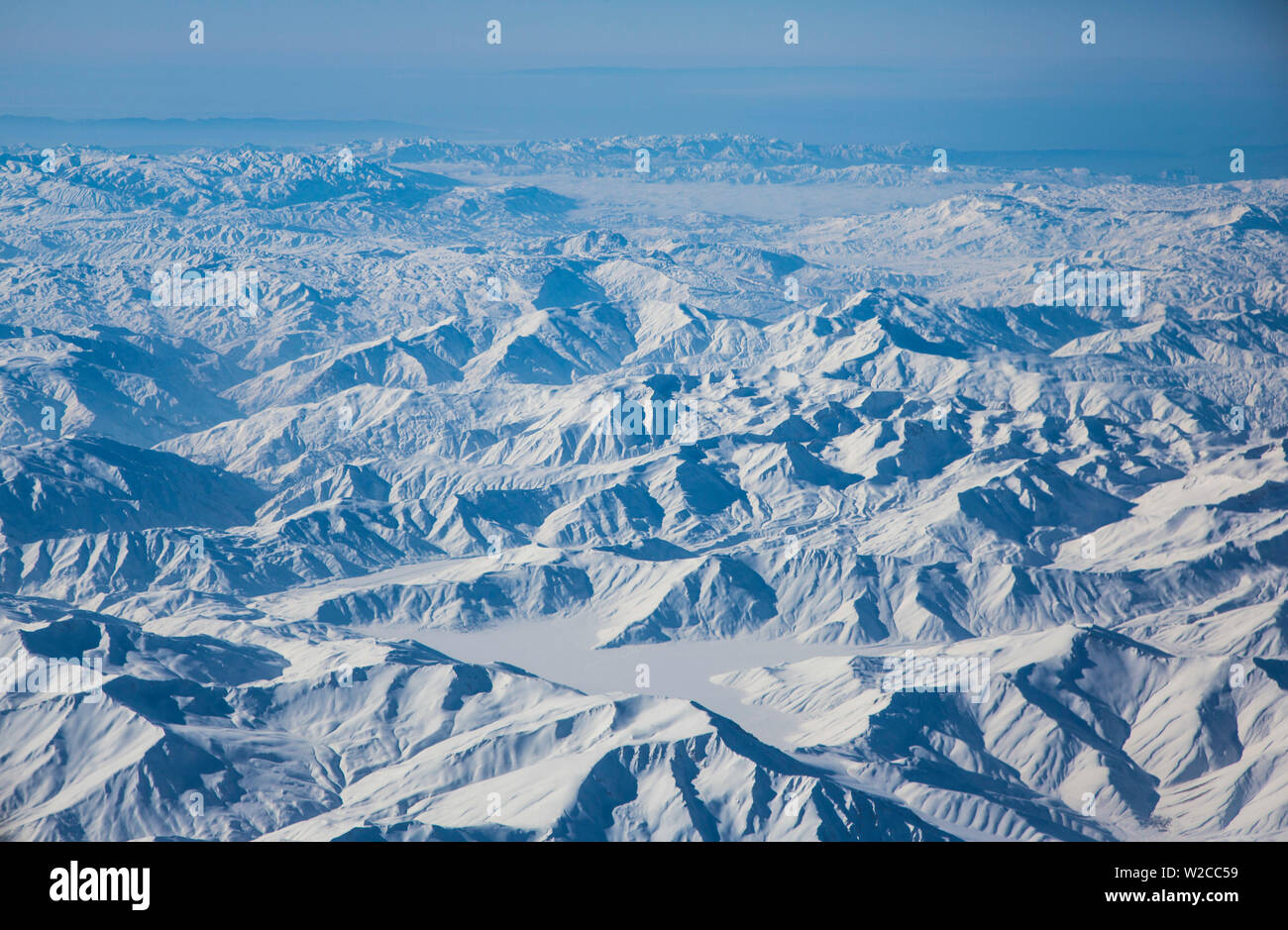Regione Kuristan nel lontano la Turchia orientale vicino al confine iraniano Immagini Stock