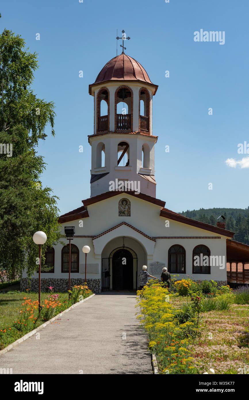La chiesa cristiana in Banya, Bulgaria Foto Stock