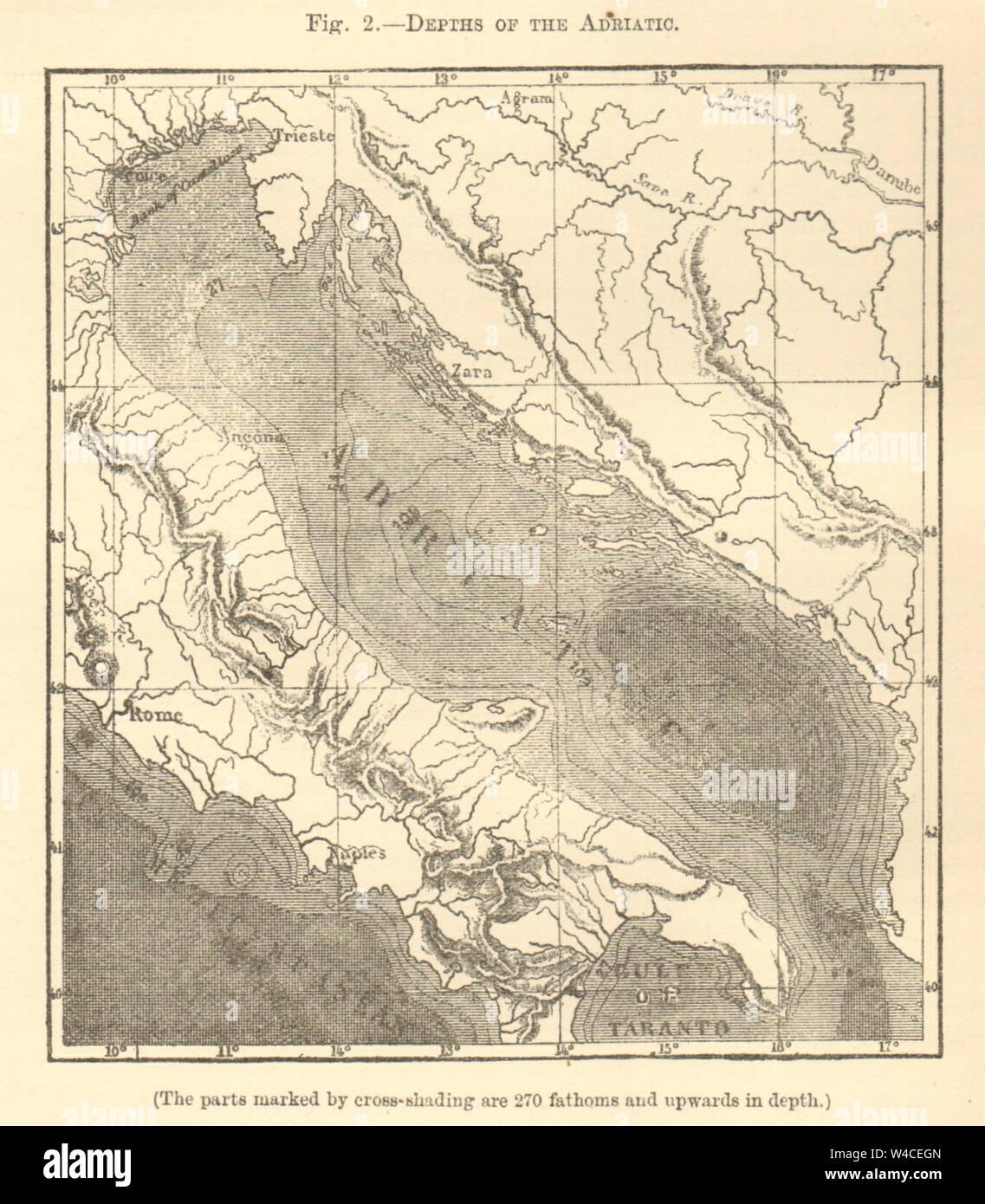 Dalmazia Italiana Cartina.Mappa Dell Adriatico Immagini E Fotos Stock Alamy
