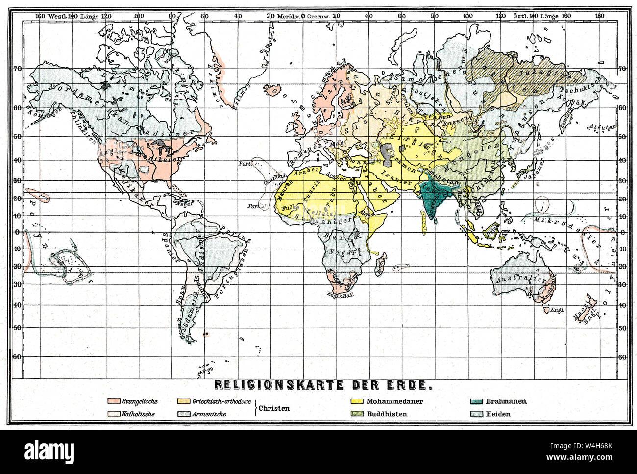 Cartina Del Mondo Con Le Diverse Religioni.Religioni Immagini E Fotos Stock Alamy
