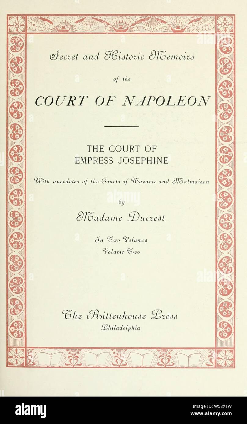 Corte Napoleonica Immagini & Corte Napoleonica Fotos Stock