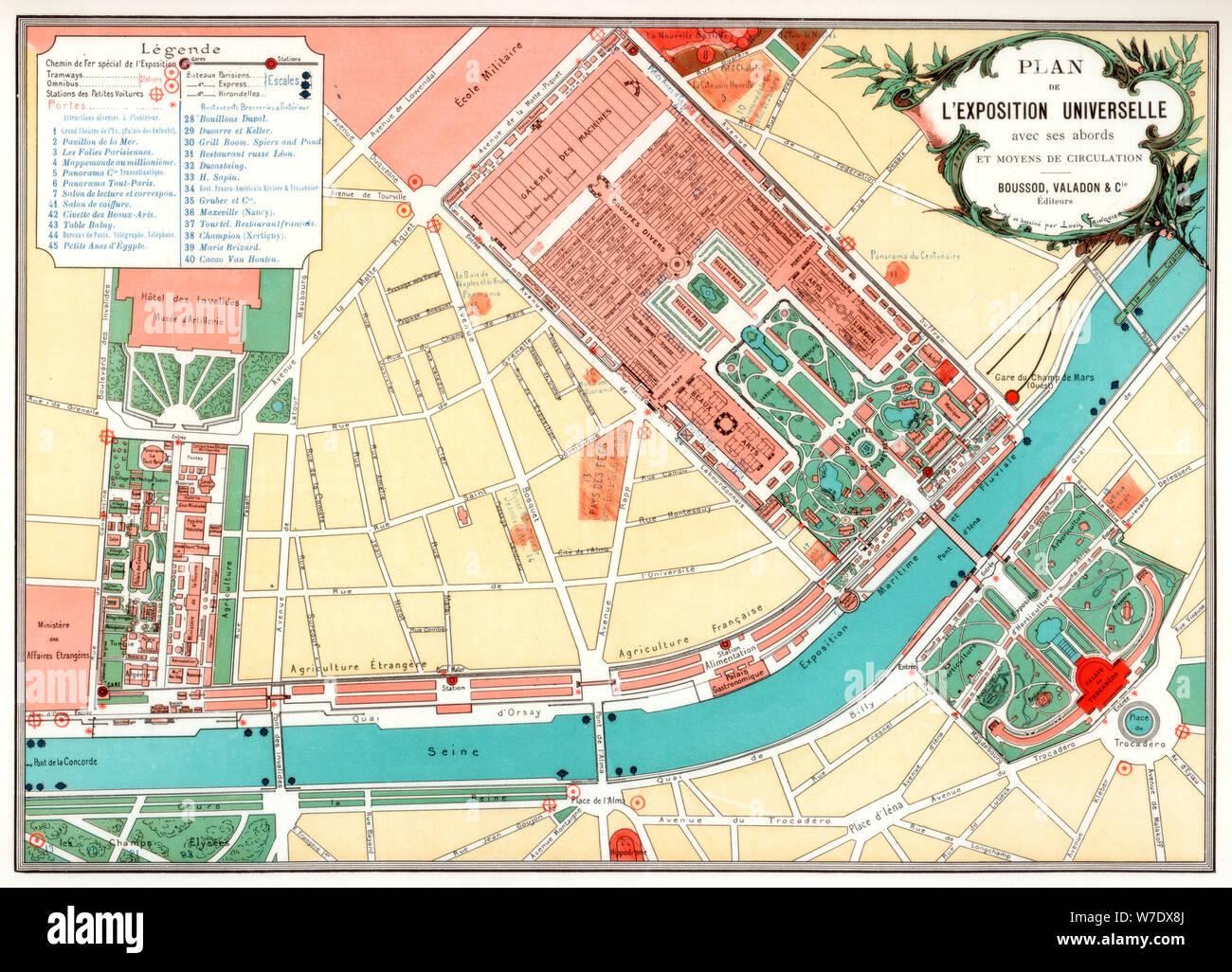 Cartina Parigi Turistica