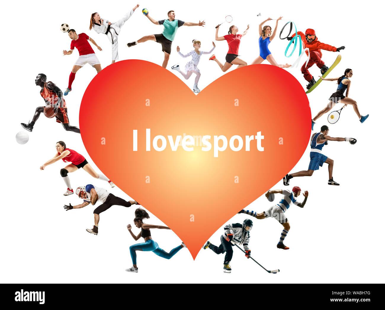 Amo Lo Sport Immagini E Fotos Stock Alamy