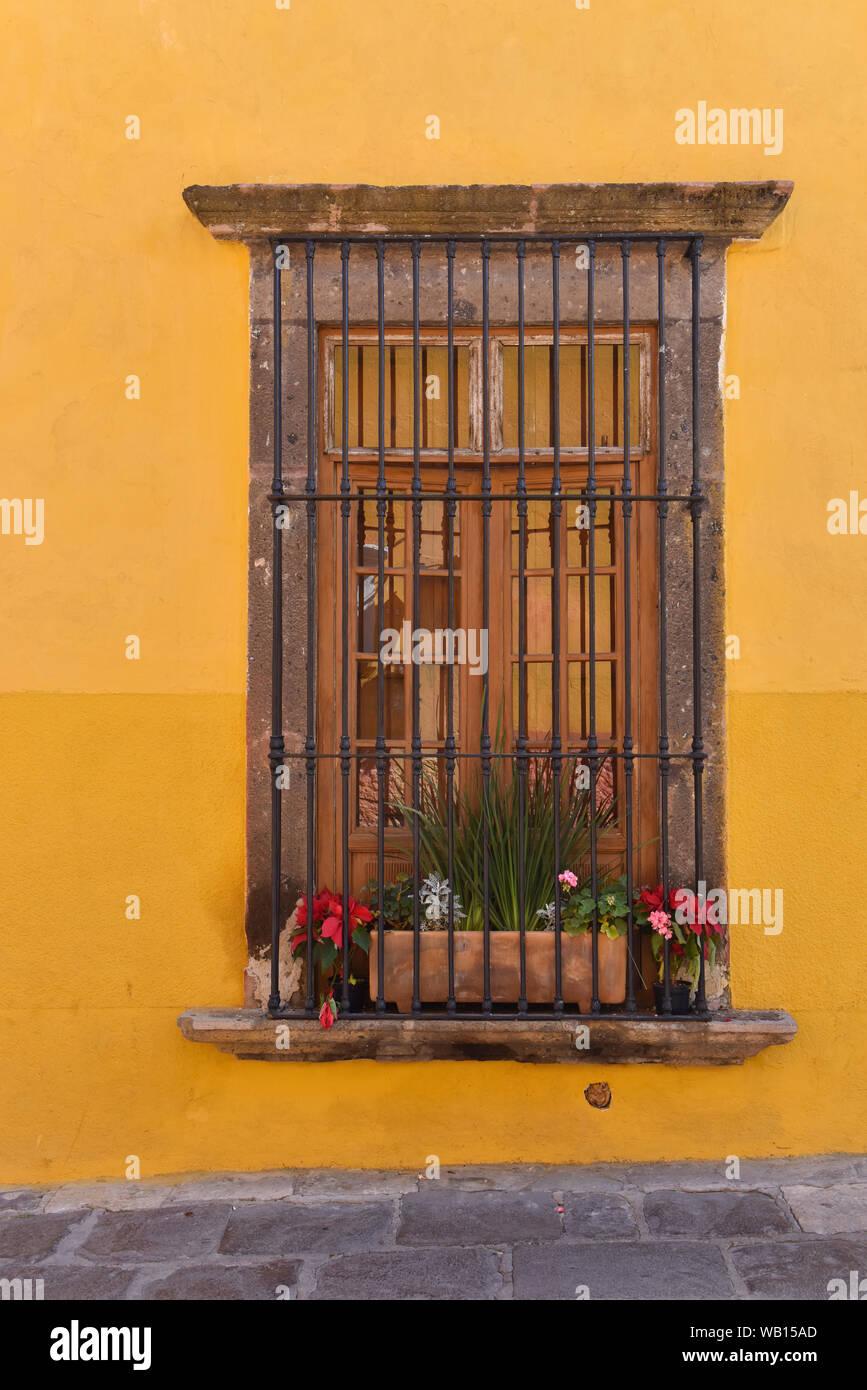 San Miguel De Allende, Dettagli architettonici Foto Stock