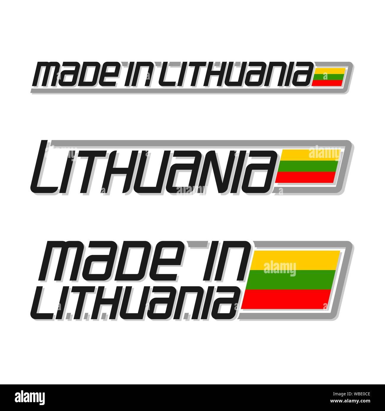 Novità Lituania Lituano Bandiere DEL PAESE FOTO NAZIONALE MAGNETE per frigorifero.