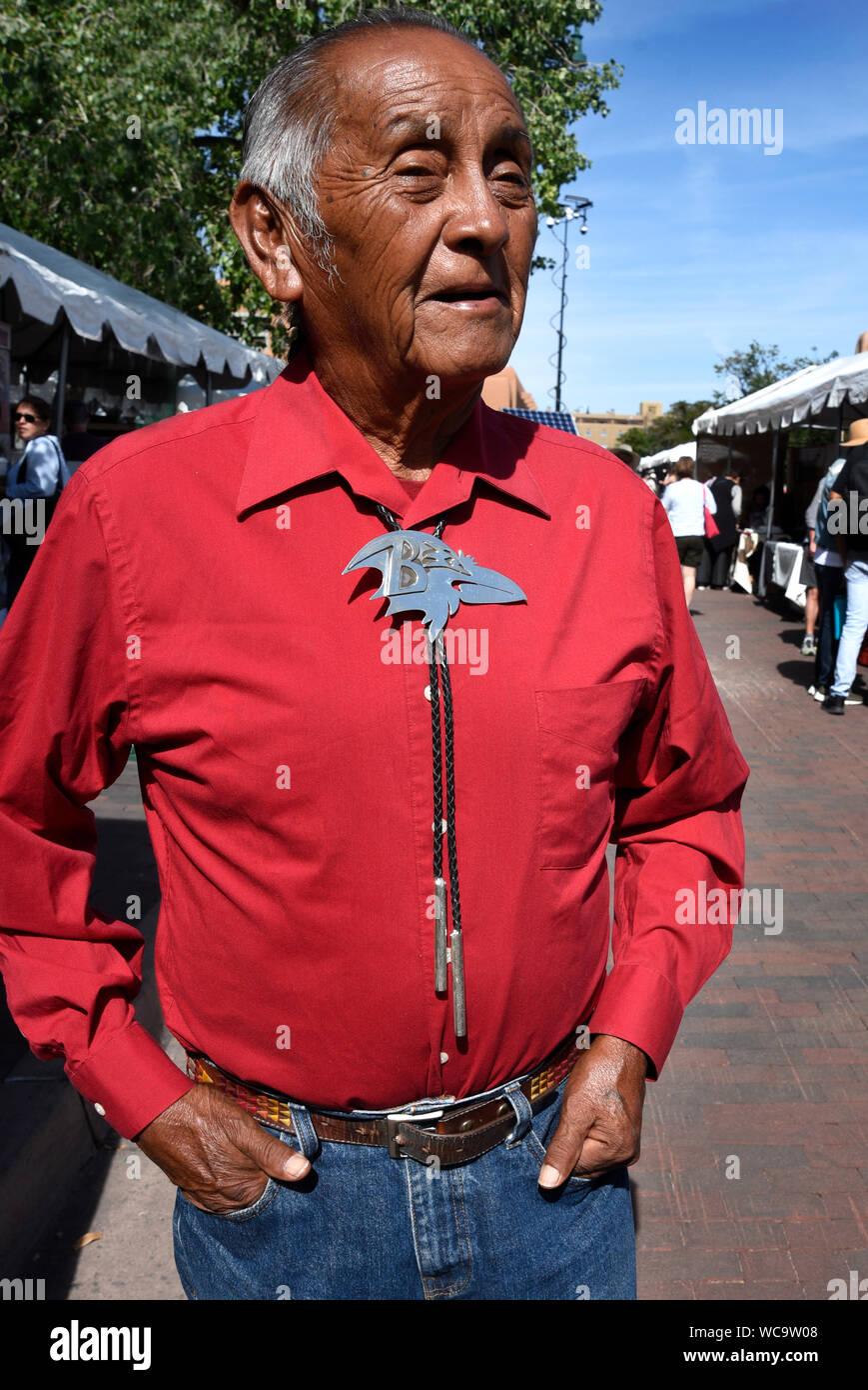 Cowboy Cravatta Bolo Cravatta Stringa allo SCERIFFO Line Dance Costume