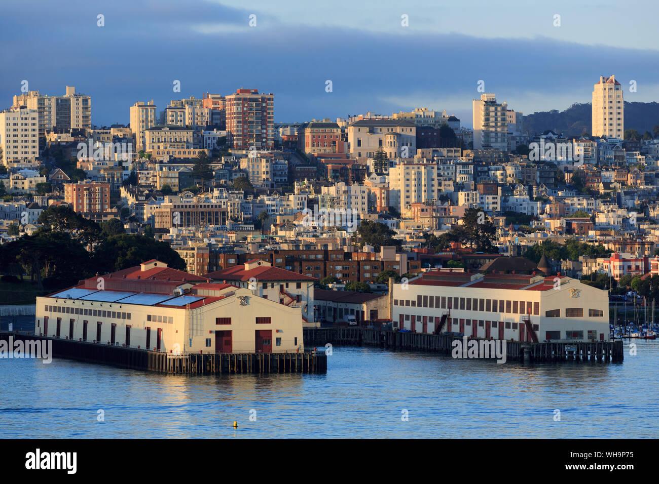 Fort Mason, San Francisco, California, Stati Uniti d'America, America del Nord Foto Stock