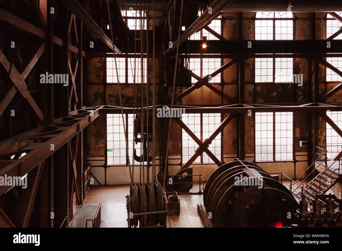 Vista della struttura integrata Foto Stock