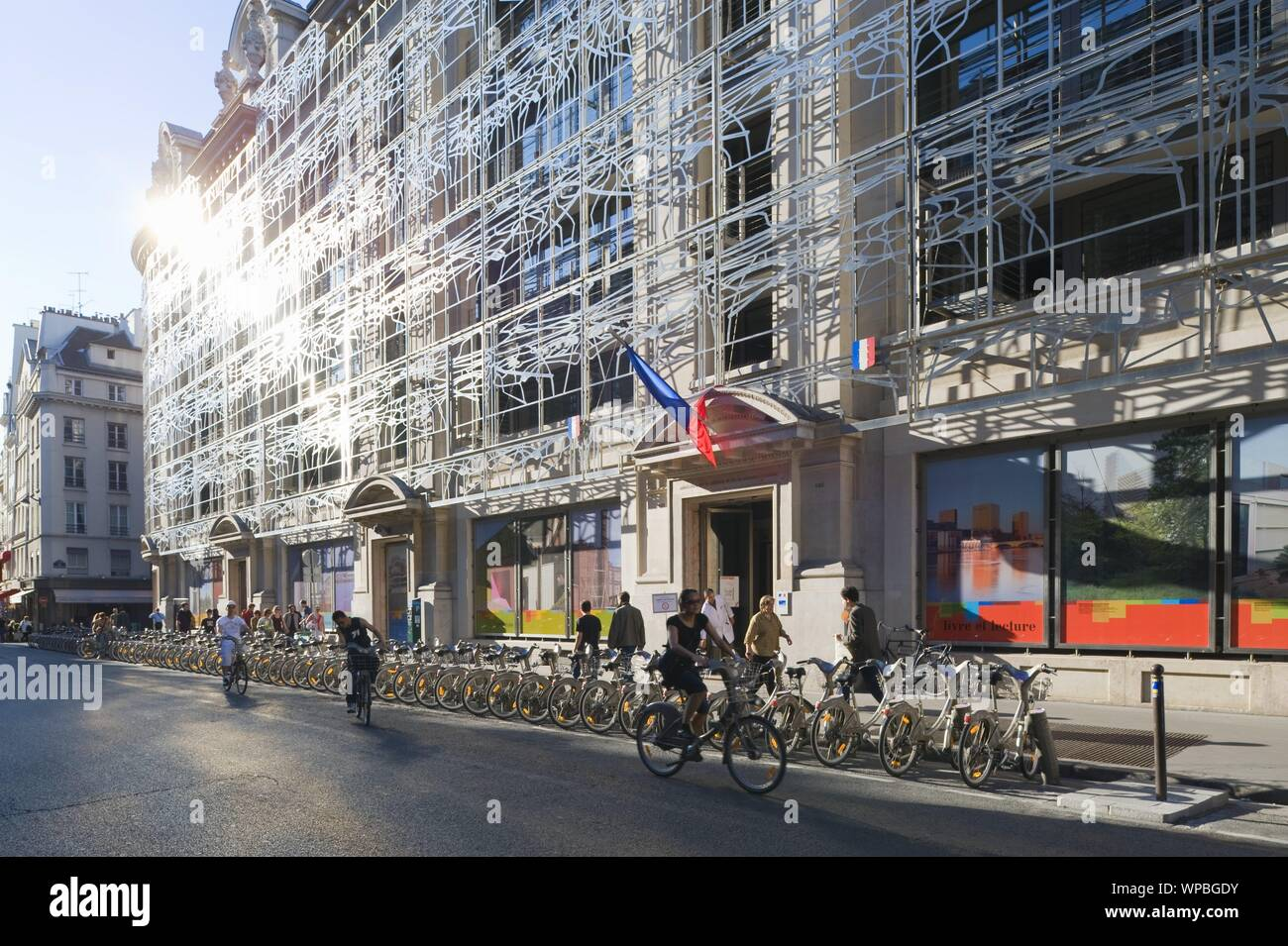 Parigi, Kulturministerium, Francesco Soler, Frédéric Druot 2004 - Parigi, Ministero della Cultura, Francesco Soler, Frédéric Druot 2004 Foto Stock