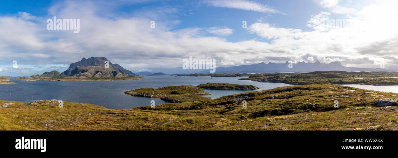 Heroy, Norvegia,Nordland Foto Stock