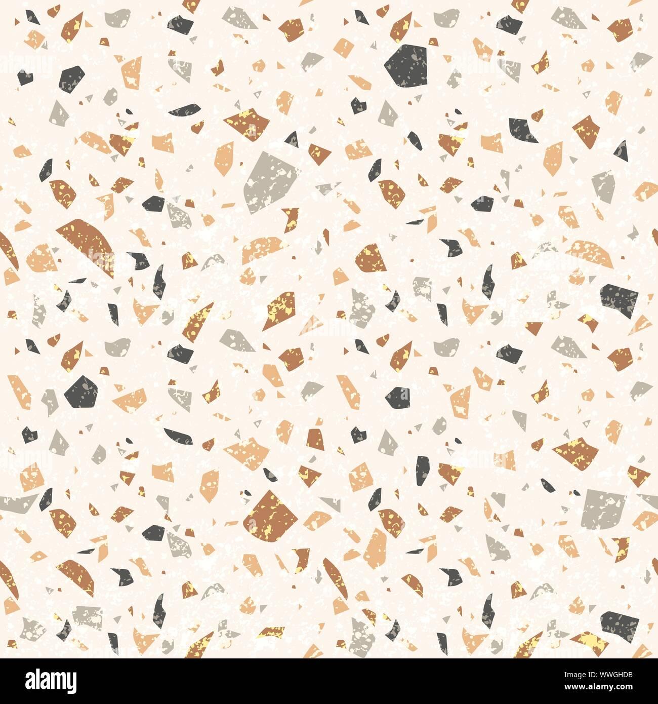 Pavimento In Terrazzo Alla Veneziana vettore terrazzo seamless texture. pavimento alla veneziana
