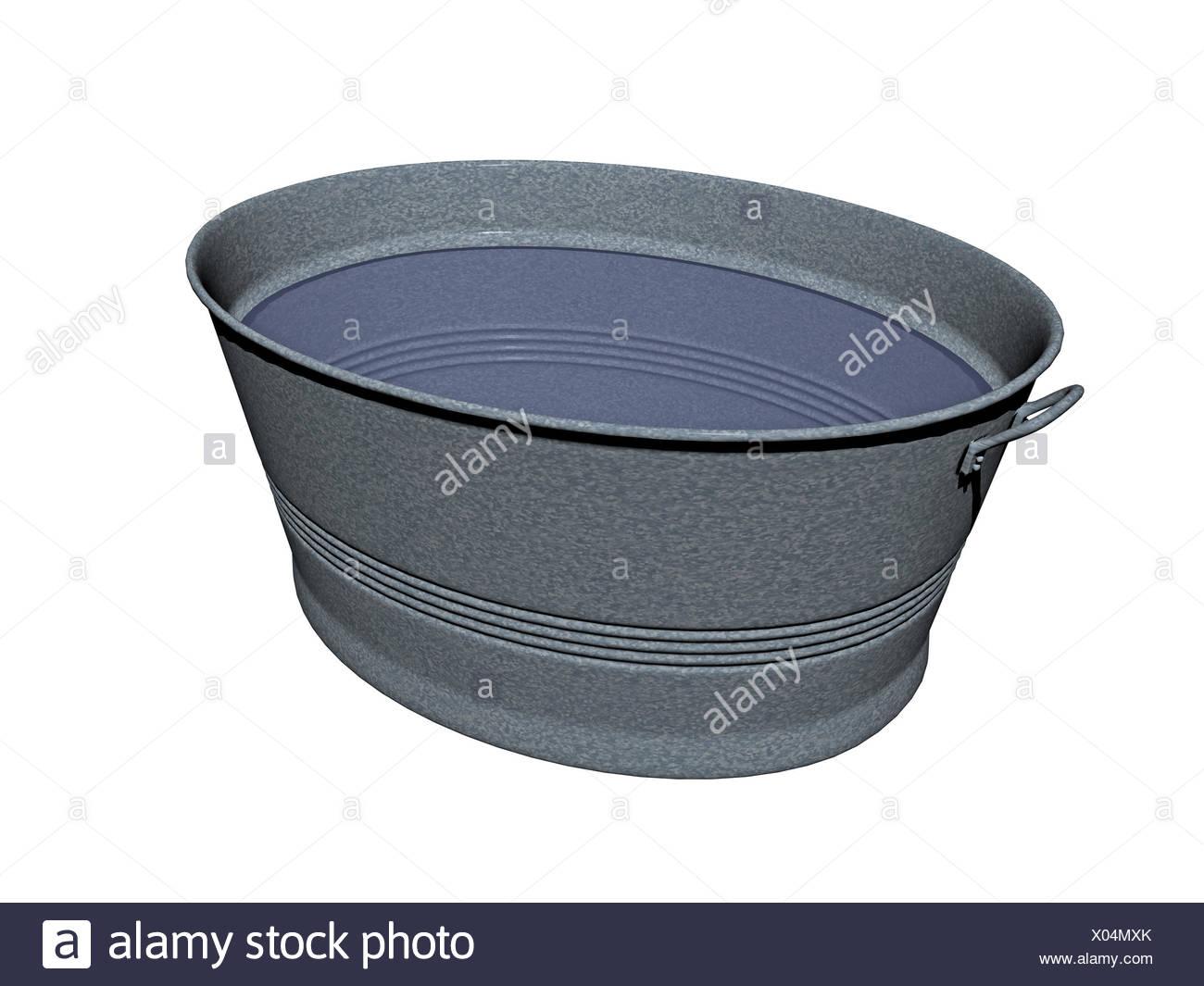 Vasca Da Bagno Di Zinco : Opzionale vasca di zinco con acqua foto & immagine stock: 275470123