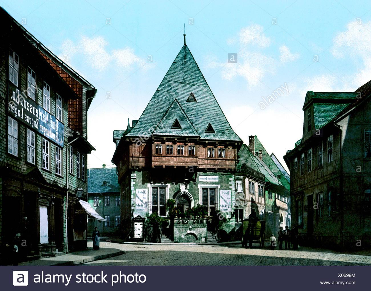 Il Gewandhaus Goslar Immagini Stock