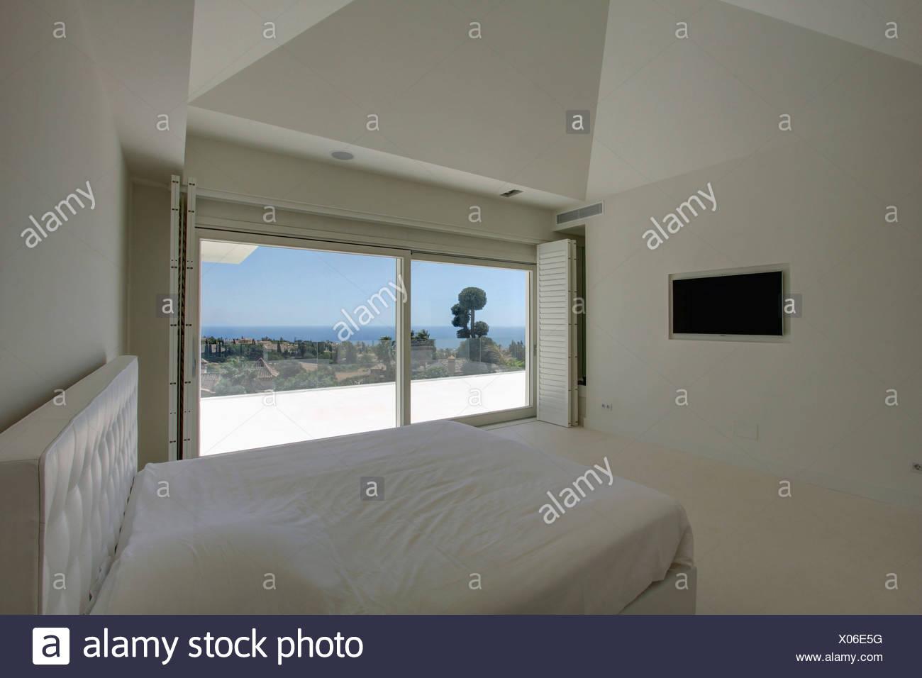 Testata letto in pelle beliani letto moderno in pelle with testata letto in pelle idee per - Camera da letto in spagnolo ...