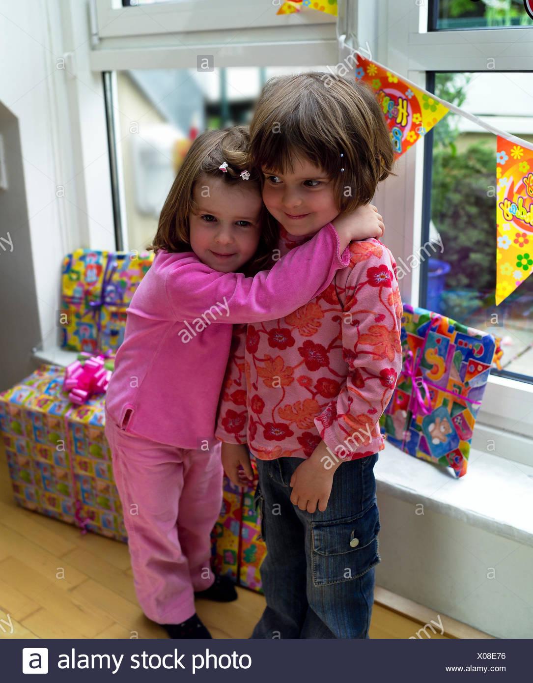 Regalo Bambina 4 Anni le ragazze, gemelli, l abbraccio, regali di compleanno, a