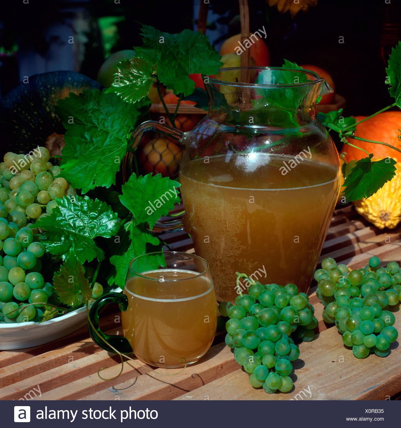 Preparata di fresco vino Immagini Stock