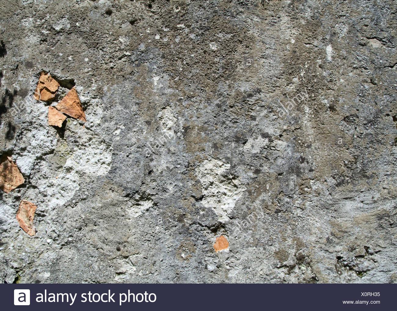 Strutturato parete grigia Immagini Stock