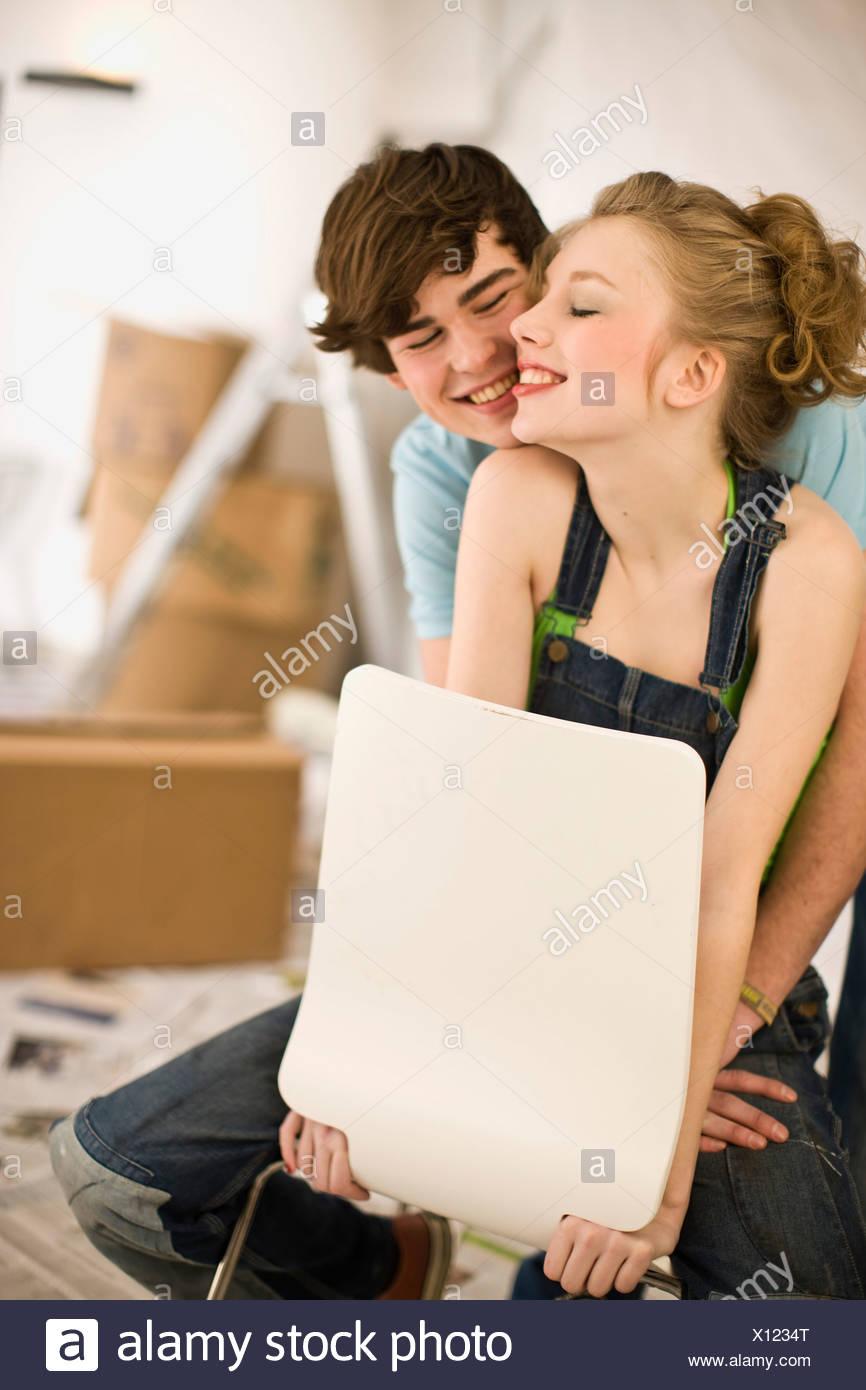 Rimozione; primo amore; si muovono insieme Immagini Stock