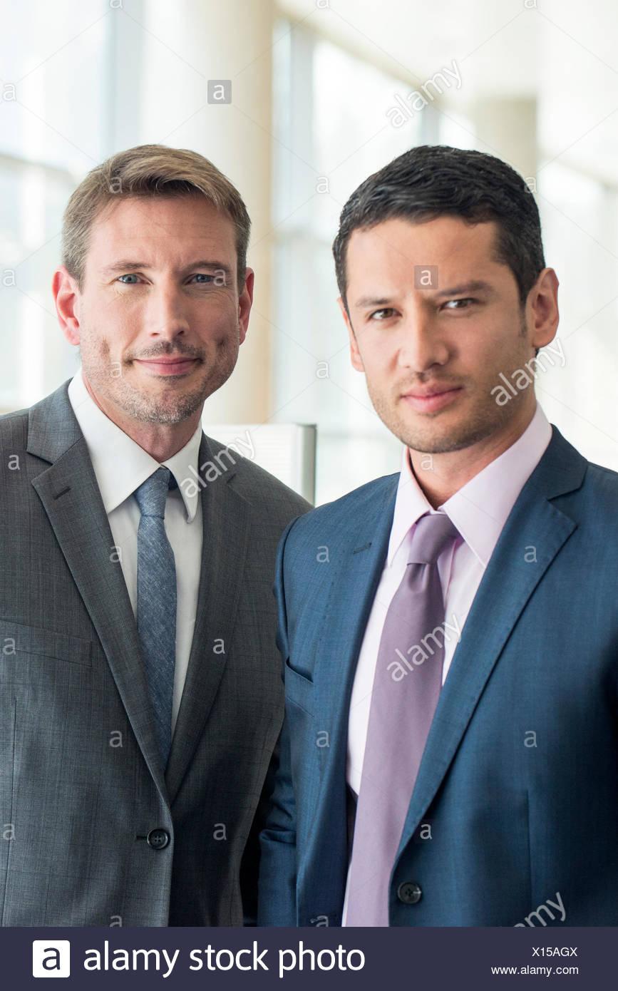 Business Partner, ritratto Immagini Stock
