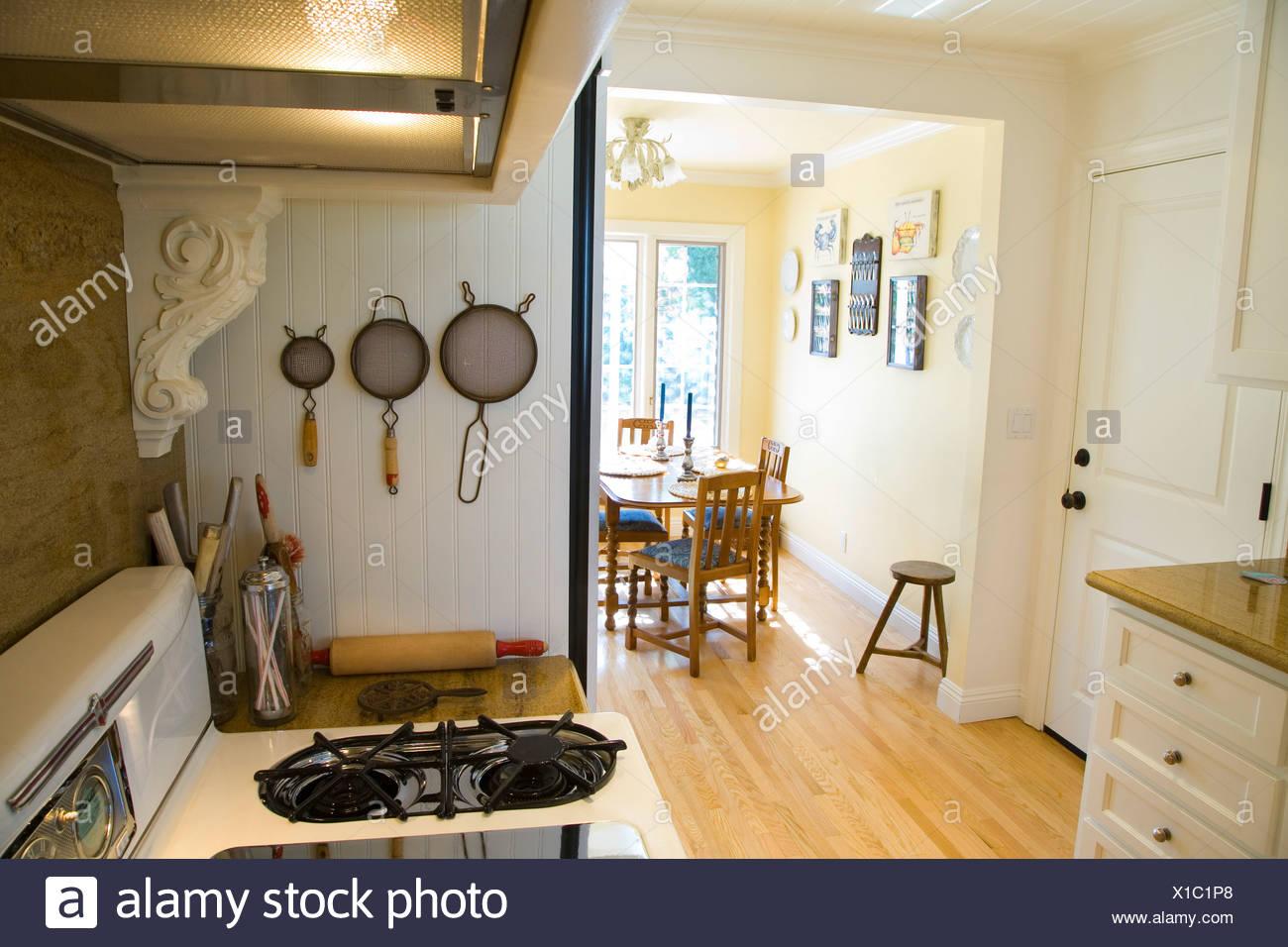 In stile country la cucina e la sala da pranzo Foto ...