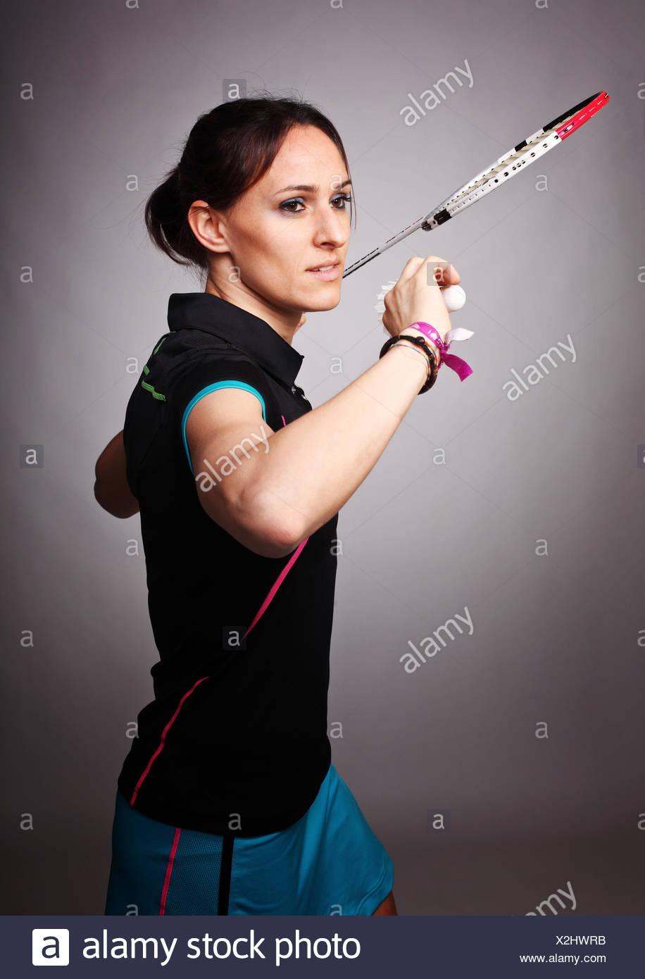 badminton Immagini Stock