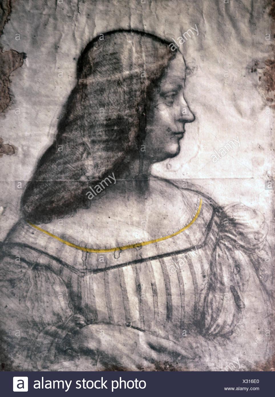 Immagini Belle Da Dipingere belle arti, leonardo da vinci (1452 - 1519), disegno