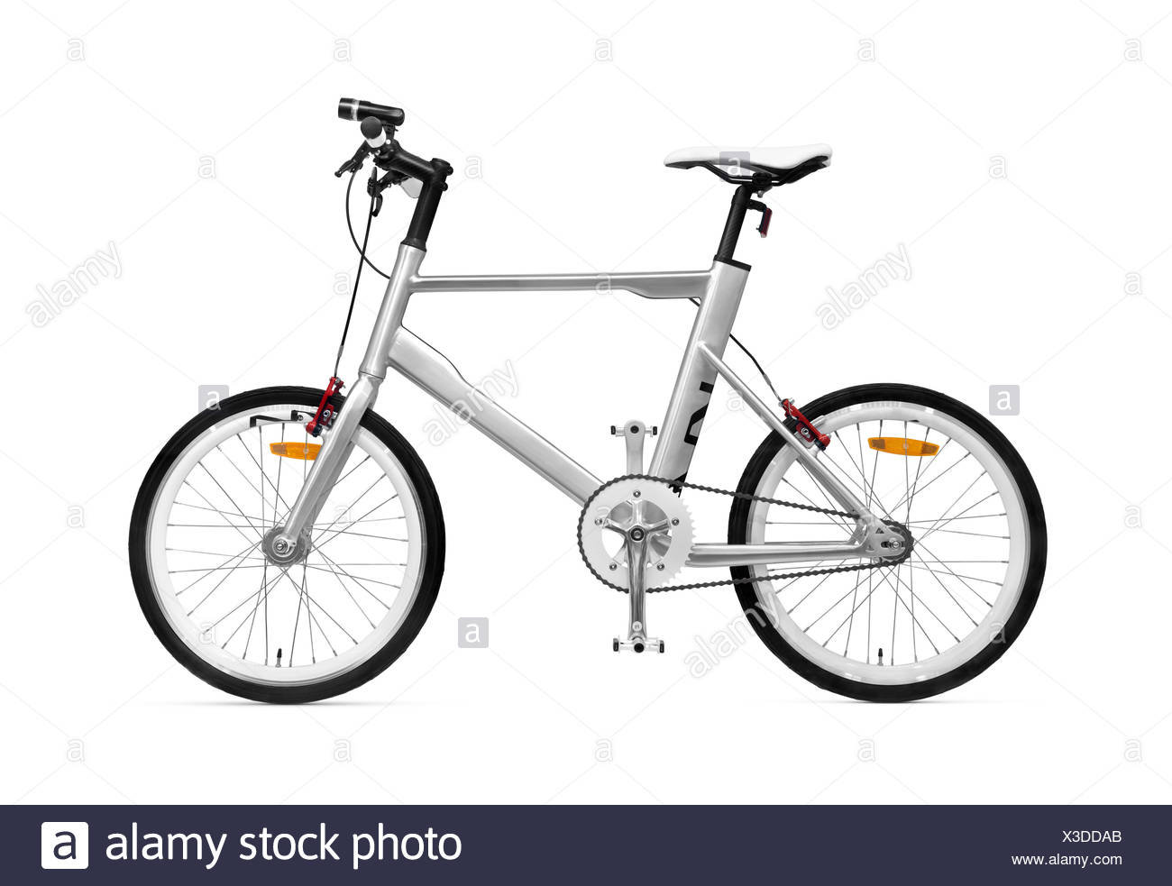 K VELO Noleggio Kia Motors bike isolato su sfondo bianco con tracciato di ritaglio Immagini Stock