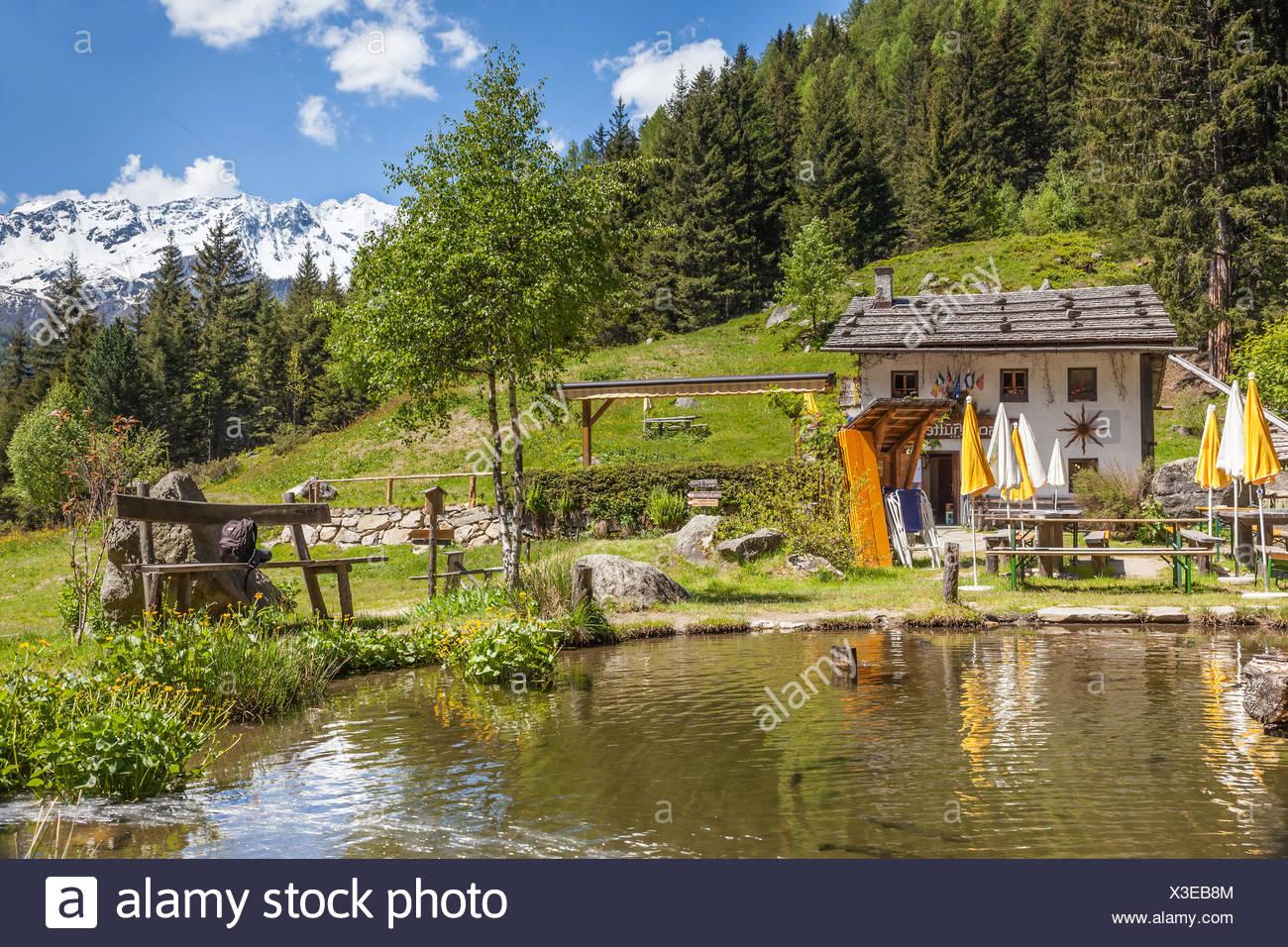 Geografia / viaggi, Italia, Alto Adige, Editorial-Use-solo Immagini Stock