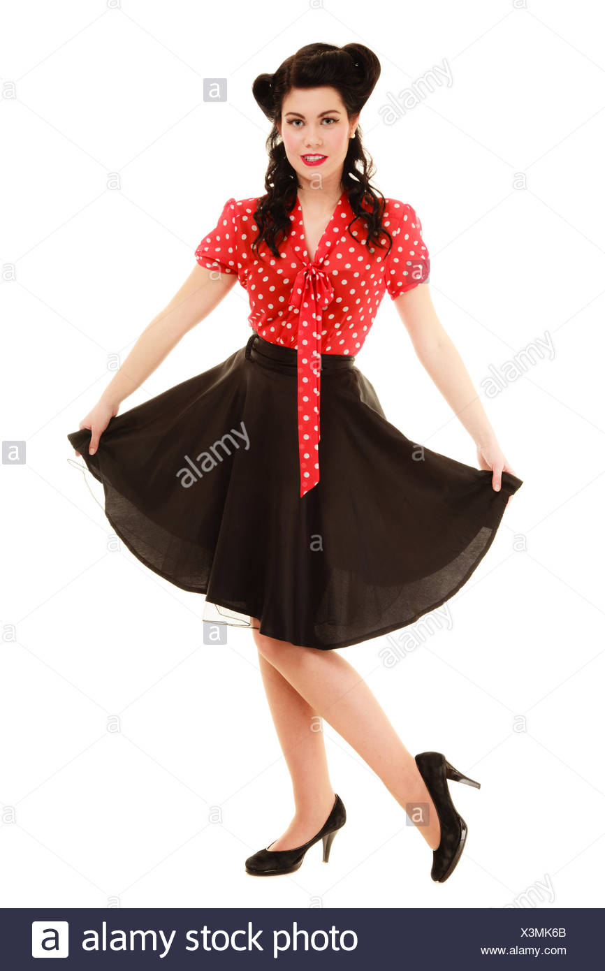 detailed look a4595 8fc25 Stile Pinup Immagini & Stile Pinup Fotos Stock - Alamy