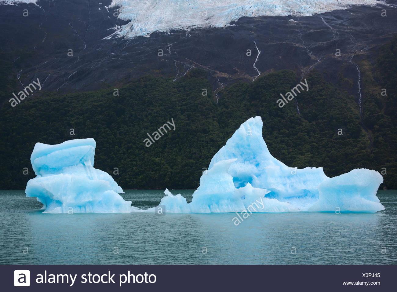 Iceberg,l'Argentina,Patagonia Immagini Stock