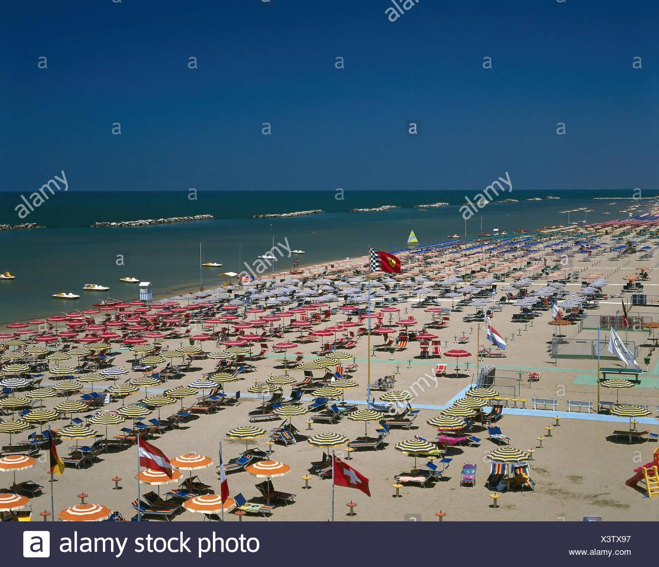 L 39 italia emilia romagna bellaria igea marina spiaggia adriatico mare italiano spiaggia - Bagno eden igea marina ...