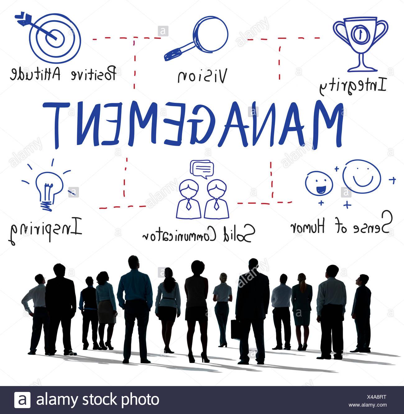 Gestione attività di coaching che trattano il concetto del Mentor Immagini Stock