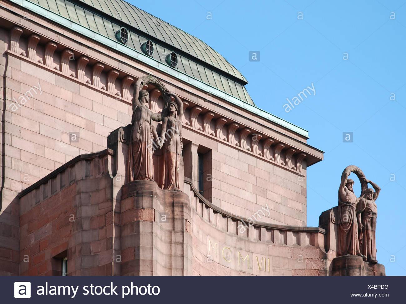 Ingresso facciata di pietra arenaria luogo salire climbing ascend in salita arrampicarsi del battistrada Immagini Stock