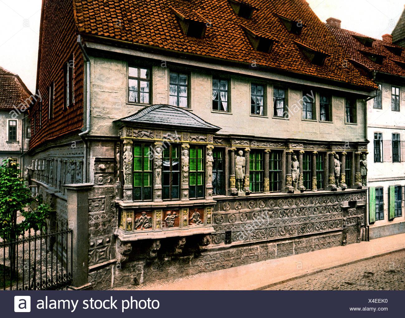 Kaiserhaus Hildesheim Immagini Stock