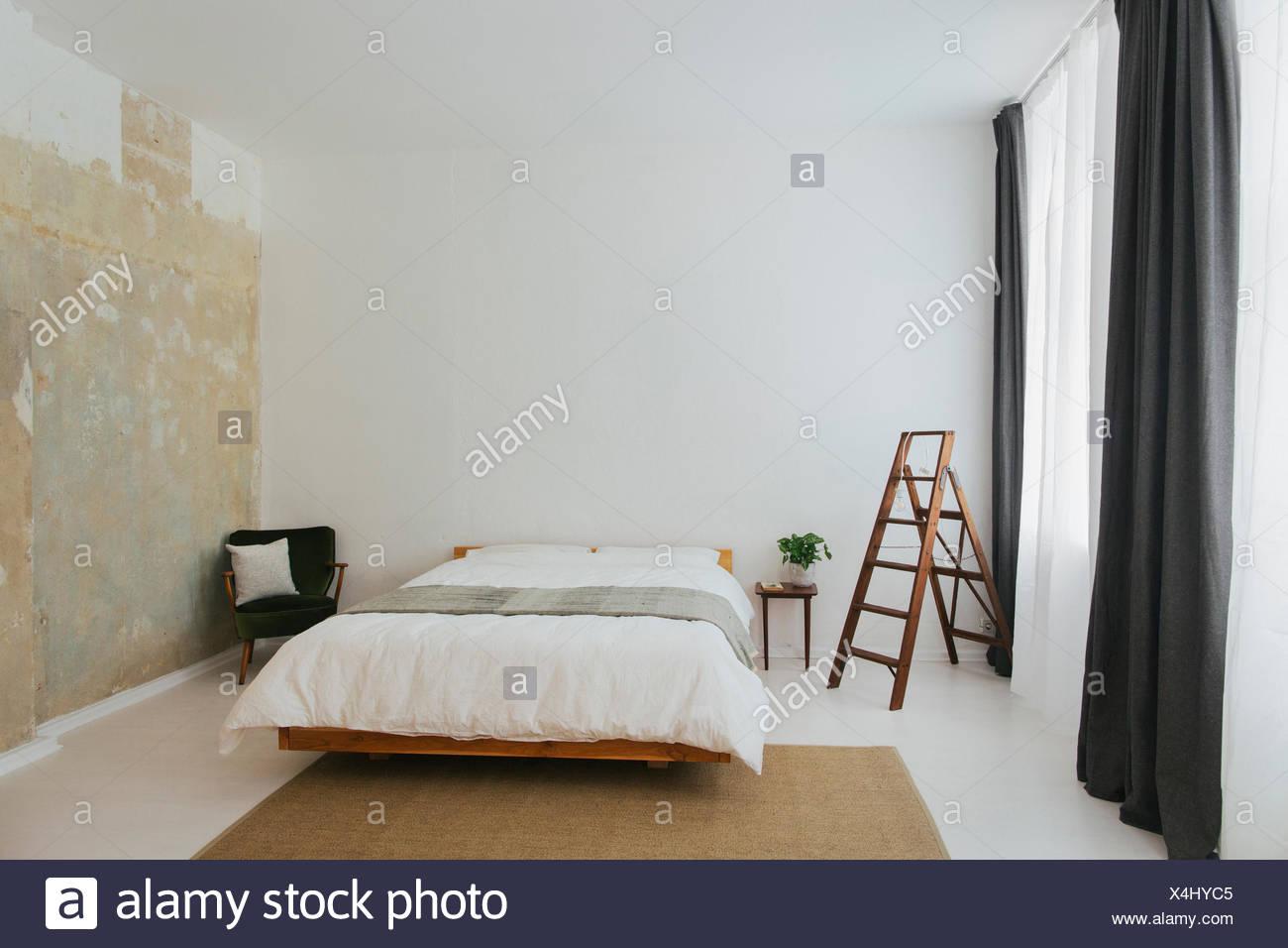 Camere Da Letto Design Minimalista : Minimalista design scandinavo camera da letto foto immagine