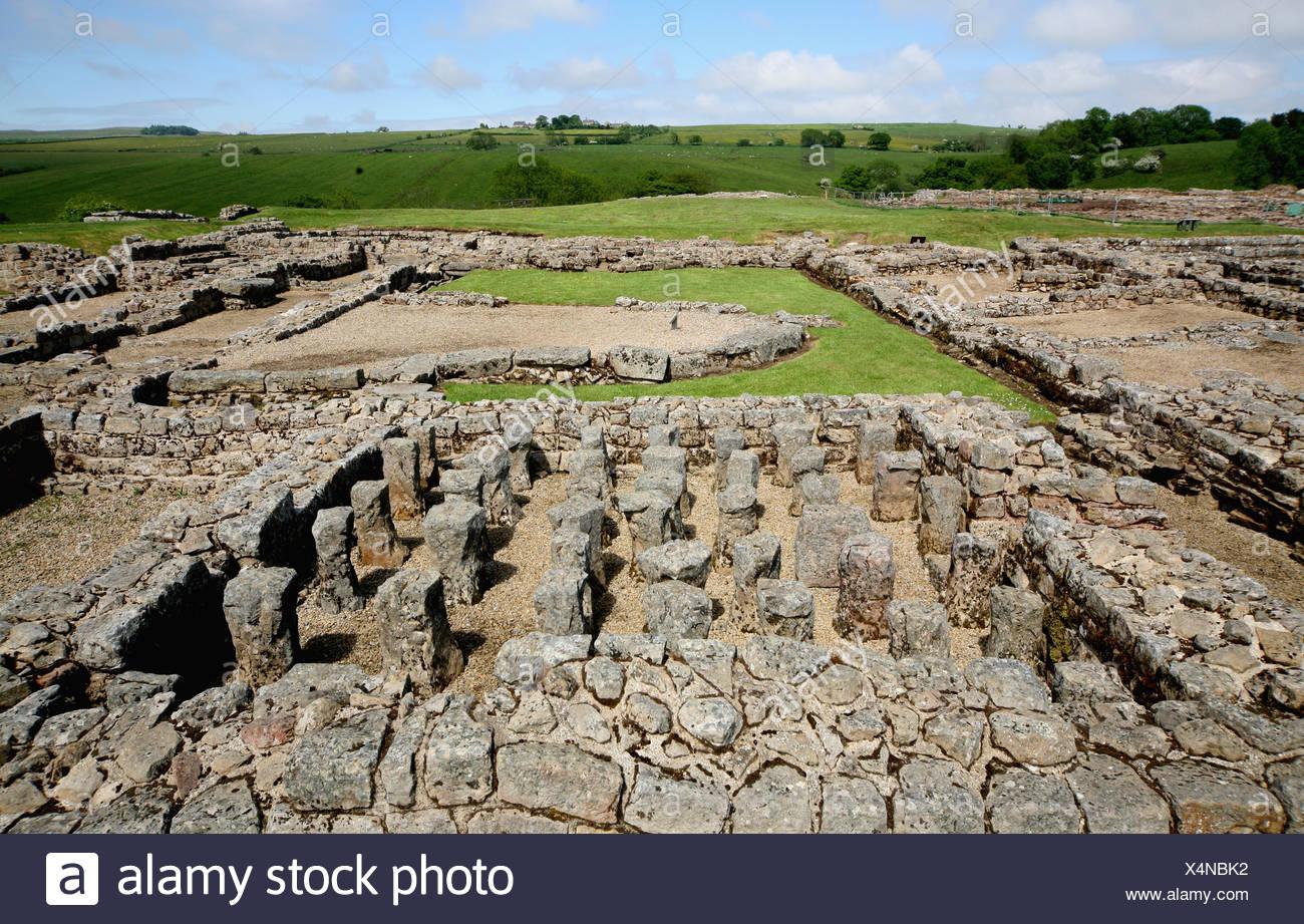 719b7bac65f76 Sistema di riscaldamento a Vindolanda insediamento romano