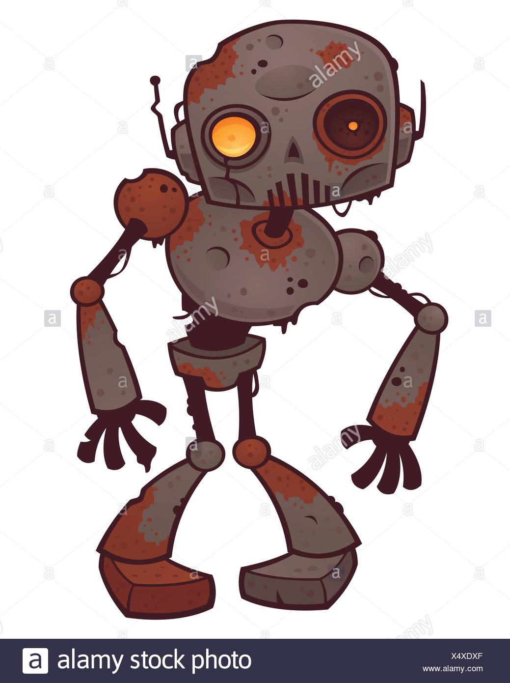 Rusty zombie robot foto & immagine stock: 278406199 alamy