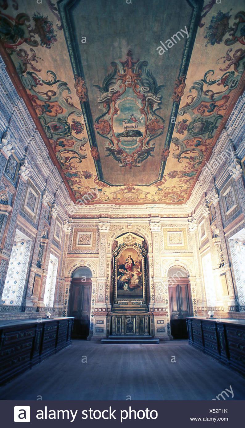 Il monastero, Lisbona, Portogallo Immagini Stock