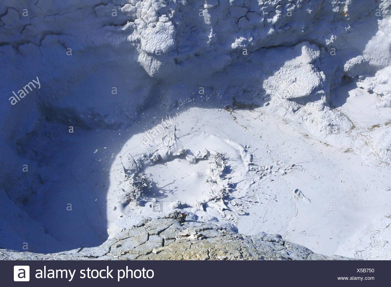 Energia geotermica in Islanda Immagini Stock