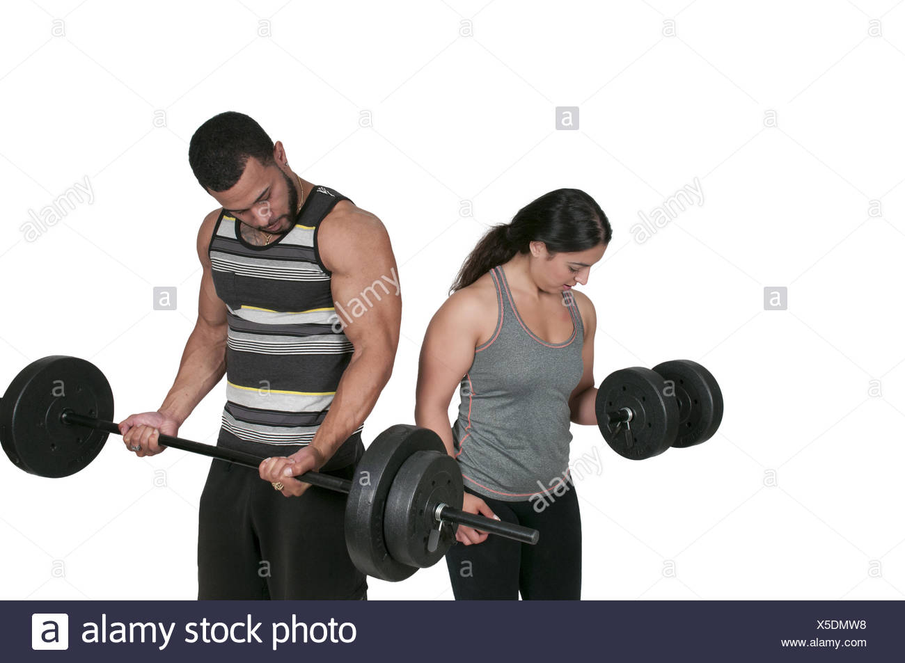 Personal Trainer Immagini Stock