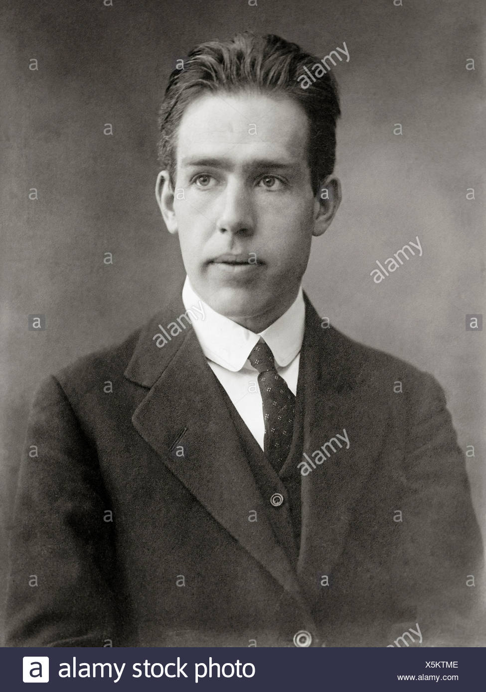 Il Fisico Niels Bohr Come Un Giovane Uomo Foto Immagine Stock
