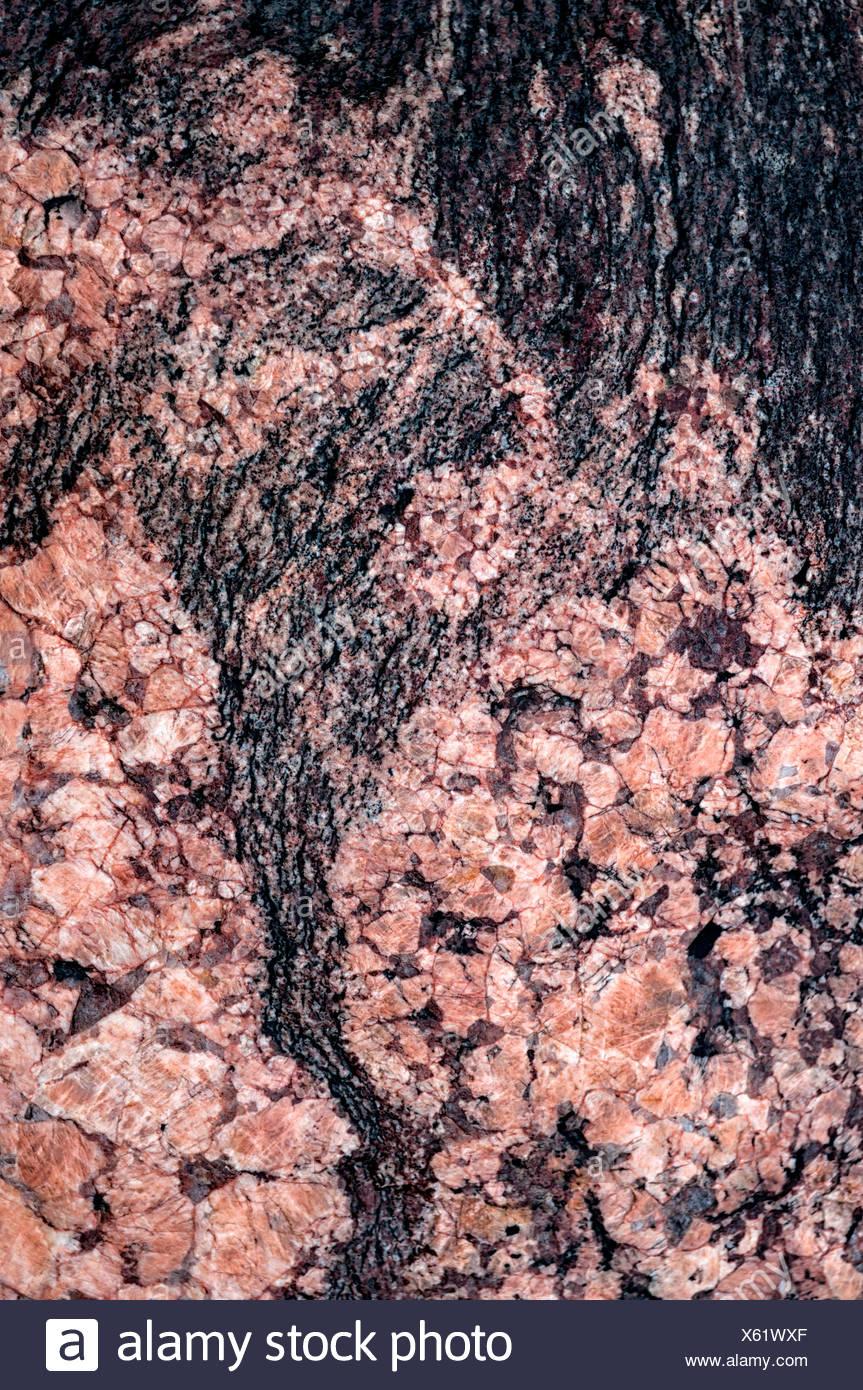 La scienza naturale, marmo, close-up Immagini Stock