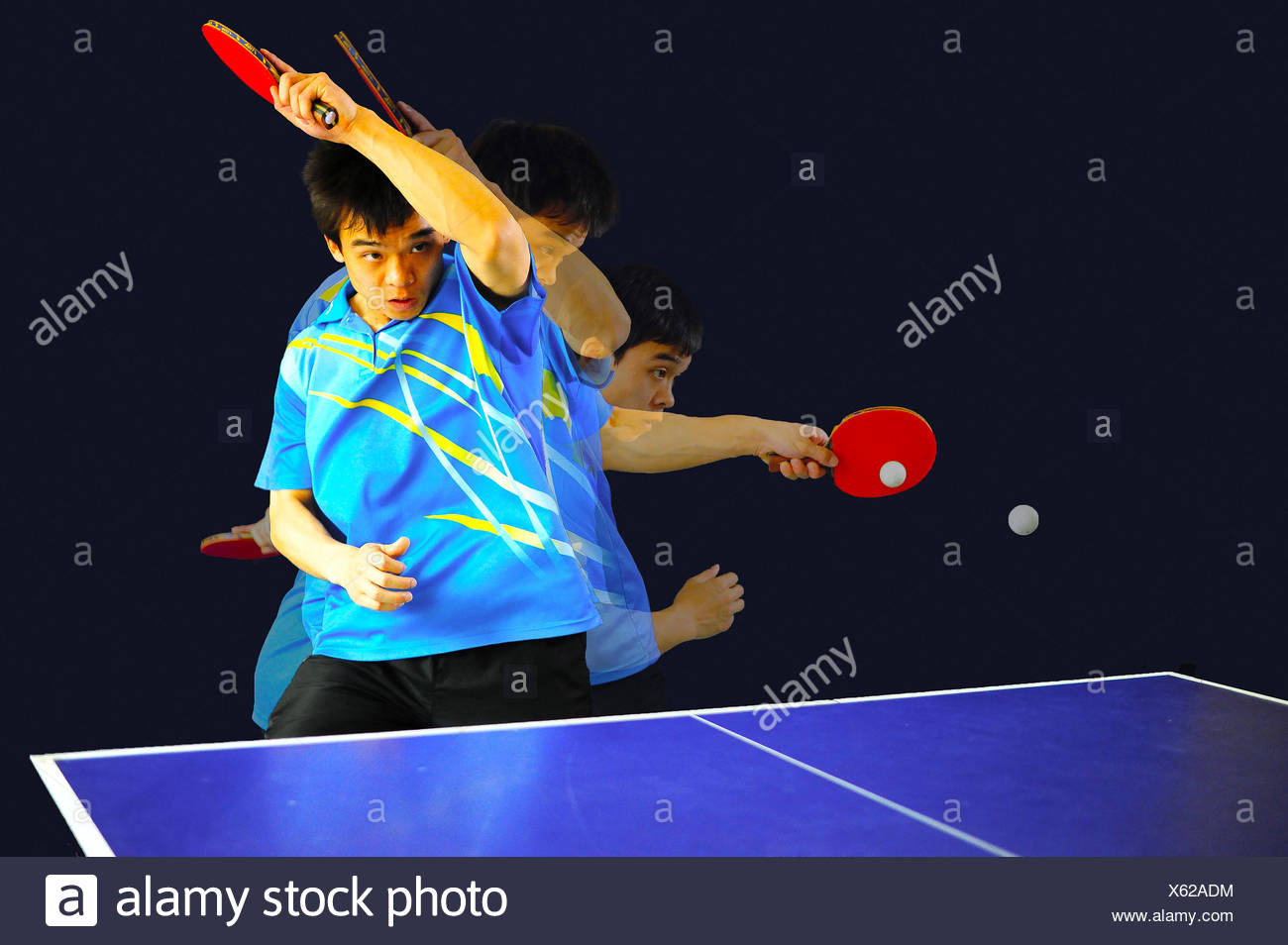 Ping-pong Immagini Stock