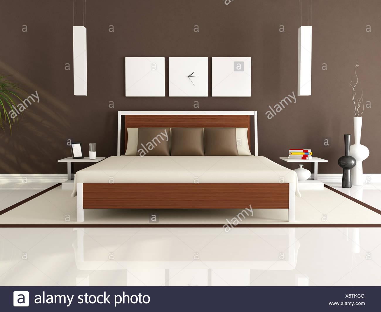 Arredamento camera letto parete interna camera da letto ...