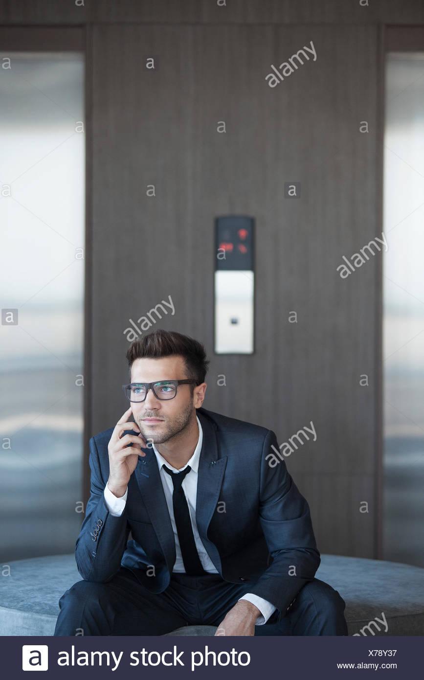Moda giovane dirigente aziendale, ritratto Immagini Stock