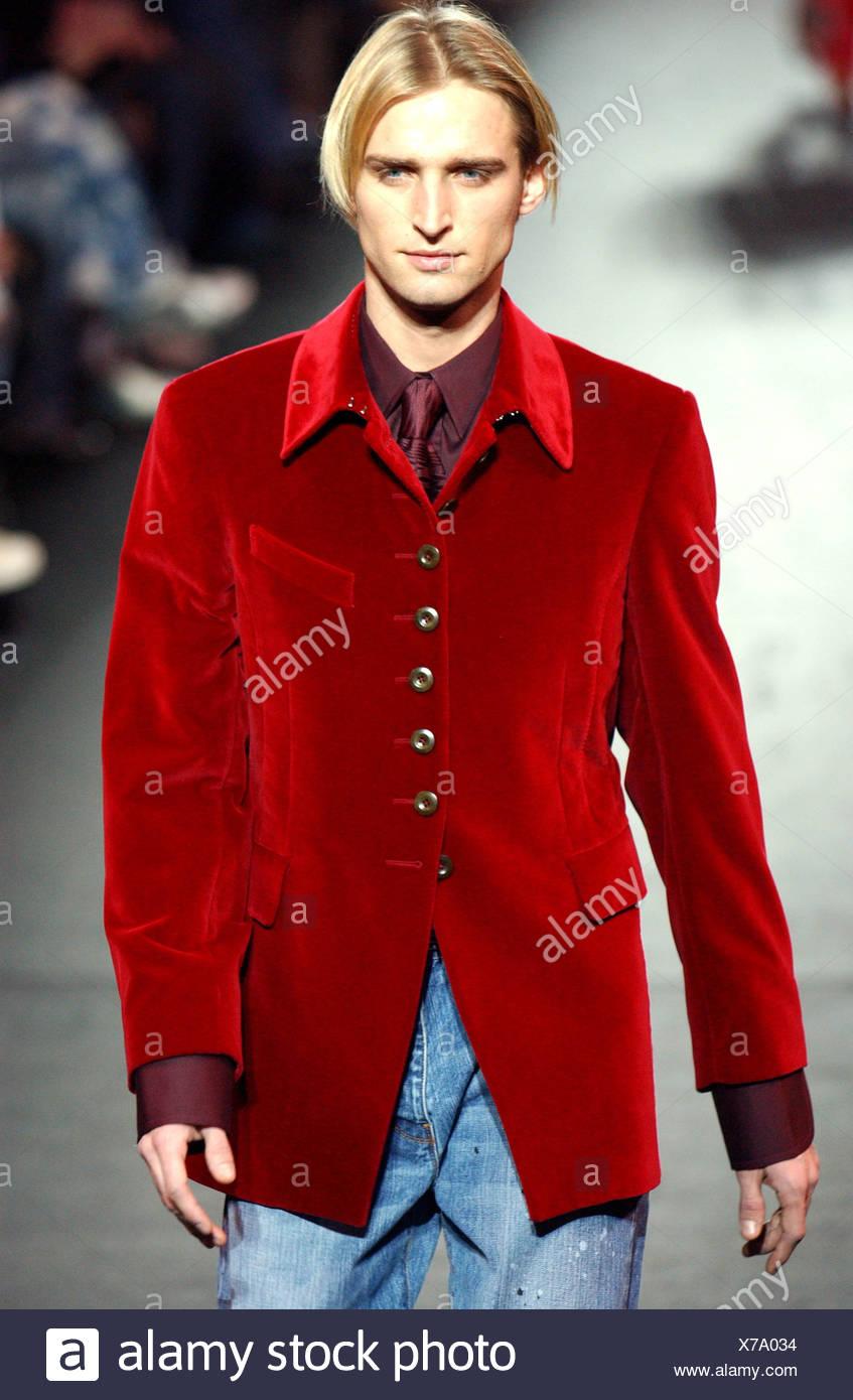 Paul Smith abbigliamento uomo Paris Autunno Inverno modello capelli biondi 5eff8d8e92c