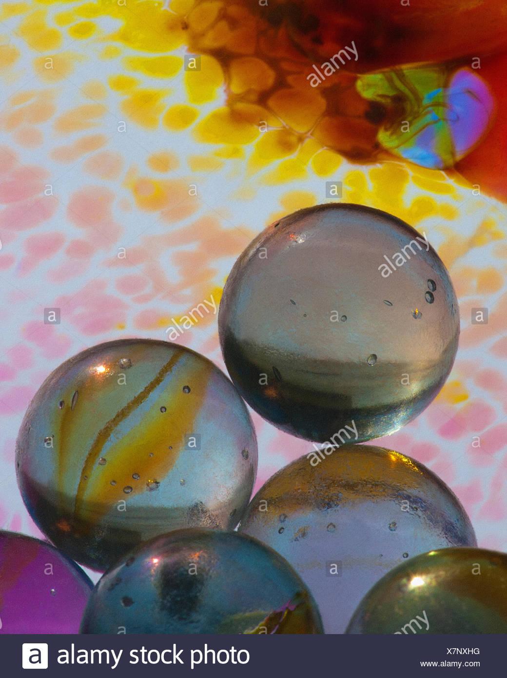 Arte della foto: Concetto di vetro Immagini Stock