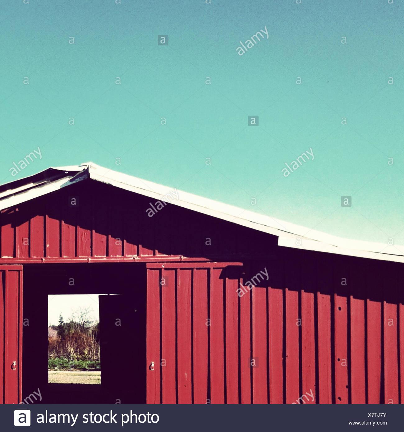 Stati Uniti, California, Valle Centrale, rosso aletti Immagini Stock