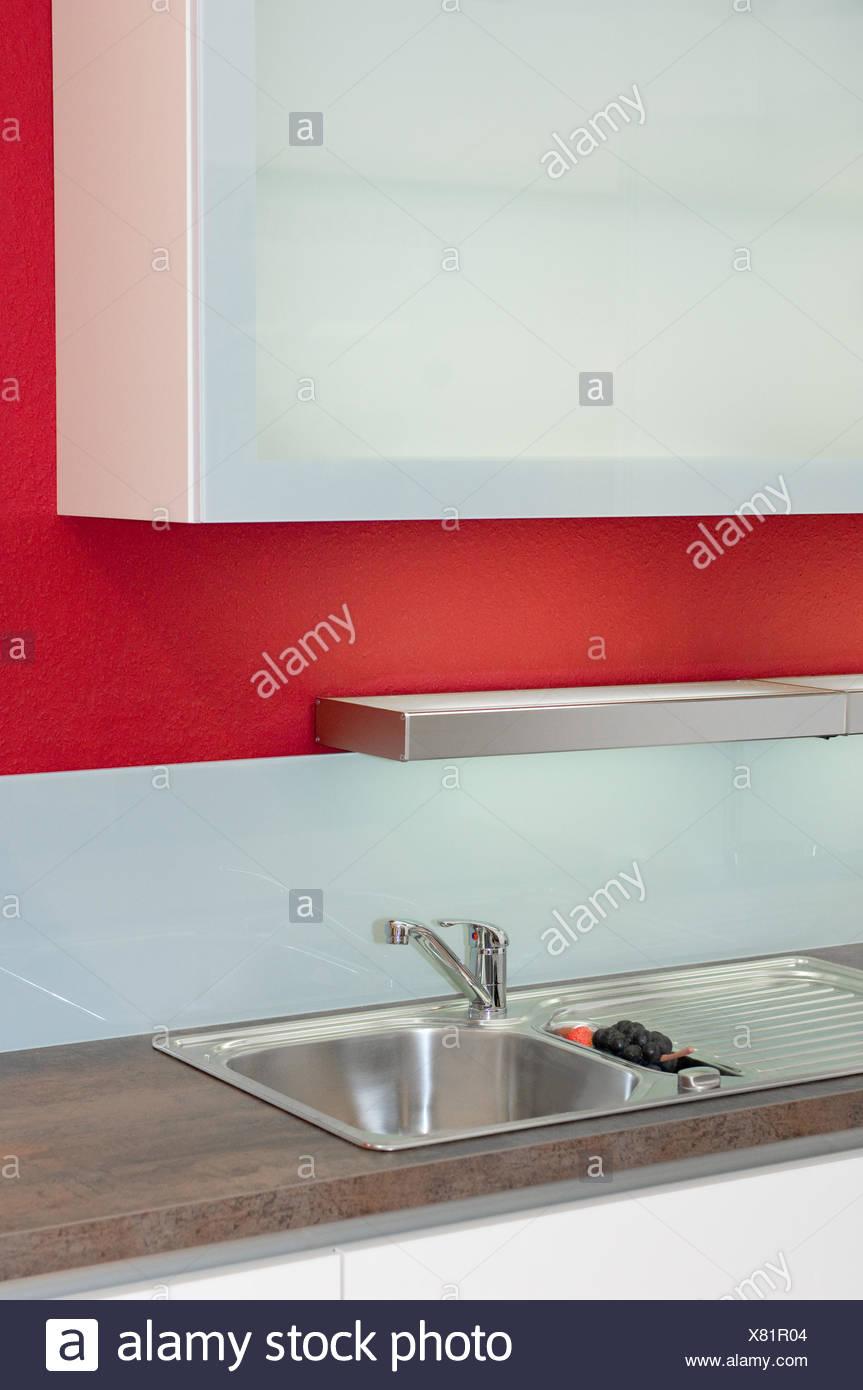 La modernità moderni di alta qualità in acciaio cucina ...